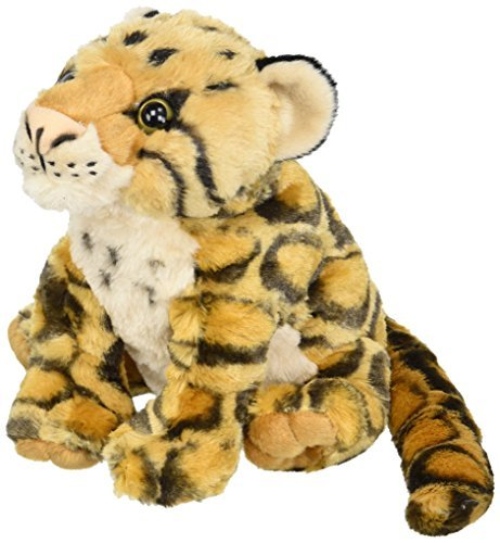 Wild Republic Clouded Leopard Plush, Stuffed Animal, Plush Toy, Gifts for Kids,