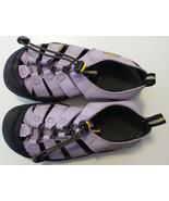 KEEN  Waterproof Sandals Light Purple Girls Sz 2 Pull String Hook Loop C... - $27.79
