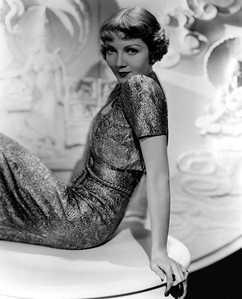 Primary image for Claudette Colbert - Movie Star Portrait Poster