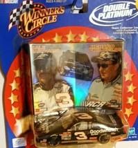 NASCAR WINNER'S CIRCLE DOUBLE PLATINUM EARNHARDT & CHILDRESS LIMITED EDI... - $9.65