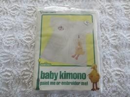 1979 VOGART Sesame Street GROVER & BIG BIRD KIMONO Paint or Embroider SE... - $9.90