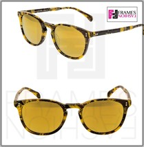OLIVER PEOPLES ALAIN MIKLI FINLEY ESQ SUN Soleil Yellow Tropical Sunglas... - $211.17