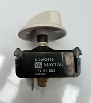 Washer Selector Switch For Maytag P/N: 2093410 62093410  [Used] - $7.91