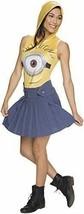 Rubie's Costume Co Women's Female Minion Face Hooded Costume Dress Yellow Medium - $9.66