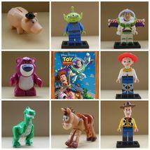 8pcs Toy Story Buzz Lightyear Woody Hamm Bulleye Lotso Rex Alien Minifigures - $17.99