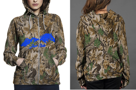 JUST RIDE HORSE REALTREE CAMO Hoodie Fullprint Zipper Women - $49.99+