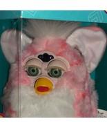 1999 FURBY BABY PINK CORAL FURBY WITH GREEN EYES NIB - $145.00