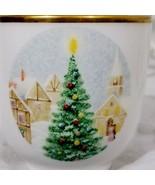 Mikasa Merry Christmas Set Fine Bone China Cup Saucer  Set of 8 - $228.69