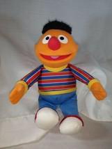 "Sesame Street Ernie 10"" Stuffed Plush Hasbro  - $12.08"