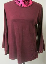 Michael Kors Women's Belt sleeve Top Size L - $15.99