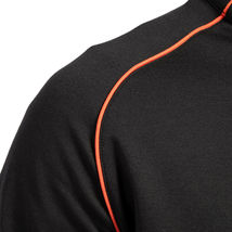 Hugo Boss Men's Sport TrackSuit Zip Up Sweatshirt Jacket & Pants Set Black image 5