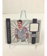 2012 Panini Justin Bieber Relic Event Worn Material Costume White Glove  - $24.74