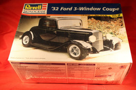 Vintage ~Revell 32 Ford 3 Window Coupe~ Model Kit Kits 1/25 Scale Parts ... - $29.95