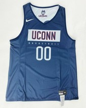 Nike UConn Huskies Basketball Reversible Jersey Women's M Navy Blue AV22... - $23.41