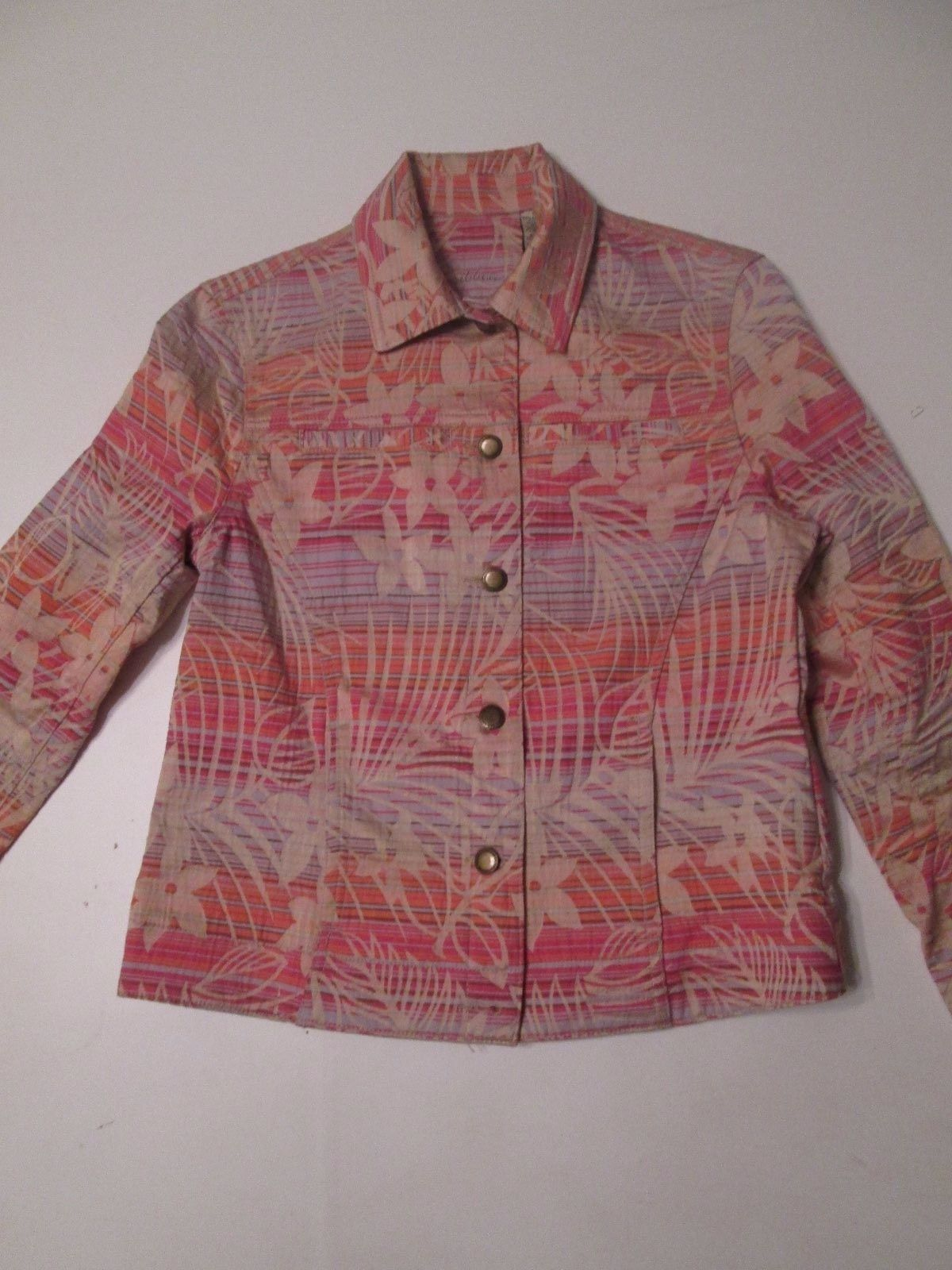 CARIBBEAN JOE WOMEN'S JACKET SIZE SMALL  #N3 - $22.79
