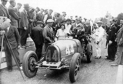 Primary image for 1930 Bugatti Type T 35C at French Grand Prix - Photo Poster