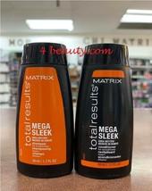 Matrix Total Results Mega Sleek Shea Butter Shampoo & Conditioner 1.7oz Duo - $19.99