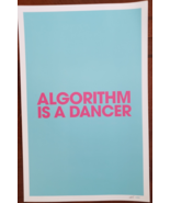 Gorillaz Algorithm is a Dancer 11x17 Promo Poster limited edition 155 /1... - $54.95