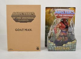 He-Man And The Masters Of The Universe Classics MOTU Goat Man Mattel Figure - $39.60
