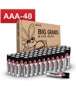 Energizer AAA Batteries (48 Count), Triple A Max Alkaline Battery - $26.99