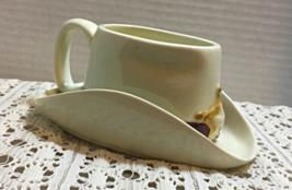 Vintage Wide Brim Old Time Sheriffs/Cowboy Hat Coffee Cup // Novelty Mug - $10.00