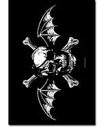 Avenged Sevenfold Textile Poster (Death Bat) - $18.00
