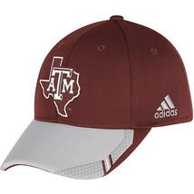 Adidas NCAA College Football Fans Curved Hat Cap Size L/XL TEXAS AGGIES... - $20.00