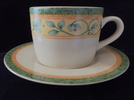 """Pfaltzgraff """"French Quarter"""" 2 cups and saucers Very good used condition - $9.98"""