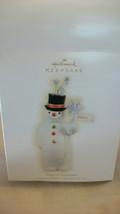 "Hallmark Keepsake, Magical Snowman ""Believe"" Christmas Ornament 2009 - $18.56"