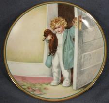 Good Morning Child's Best Friend Collector Plate Bessie Pease Gutmann Pu... - $29.95