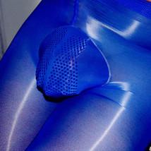 8D Oil Shiny Men Pantyhose Nylon Stockings Silicone Sheath Sleeve Massage Tights - $12.40