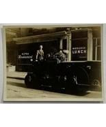 Old Photo 4 x 3 Street Scene Paving Equipment Operator Middlesex, New Je... - $19.59