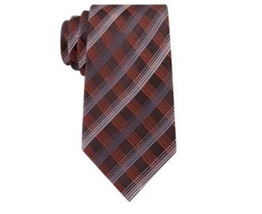 Geoffrey Beene Office Chic Plaid 100% Silk Neck Tie Necktie. MSRP $55 - $12.86