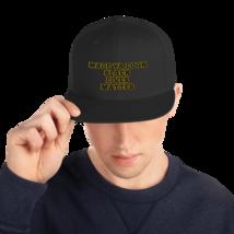 Made Ya Look Black Lives Matter Hat / Black Lives Matter Snapback Hat image 3