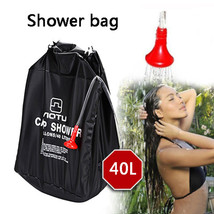 Camping & Hiking shower bag Portable Shower Heating Pipe Bag Solar Water... - £12.13 GBP