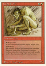 Magic: The Gathering 3rd Edition - Sedge Troll - $6.99