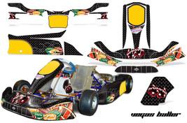 Go Kart Graphics Kit Decal Sticker Wrap For Tony Kart Venox VEGAS BALLER... - $197.95