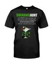 Shenanigaunt An Aunt Who Instigates Shenanigans T-Shirt Men Black Made i... - £12.36 GBP+