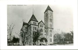 Vintage ~ 1940s kodak real photo postcard rppc hutchinson ks County Hall - $48.08