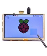 5 Inch 800 x 480 HD TFT LCD Touch Screen For Raspberry PI 3 Model B/2 Mo... - $59.39