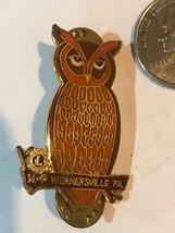 Pennsylvania Lions Club Hat Lapel Pin WERNERSVILLE OWL 14P RARE! - $20.44
