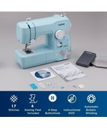 BRAND NEW Brother Full-Size Sewing Machine 17 Stitch LX3817A Turquoise A... - $112.85