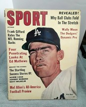 Sport Magazine October 1961 Wally Moon Dodgers No Label  - $11.87