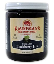 Kauffman's All-Natural Seedless Blackberry Jam, Case of 12/18 Oz. Jars - $96.40