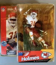 2003 McFarlane NFL Series 6 Priest Holmes #31 Kansas City Chiefs Action ... - $19.99