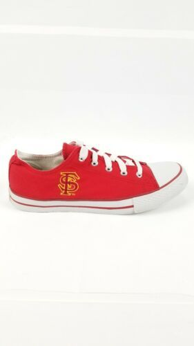 San Francisco SF Unisex Adult Converse Slip On Shoes Size 8m Red Campus Footnote image 2