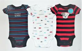 Carter's Child of Mine Infant Boys 3pc Bodysuits Size Preemie Daddy's Newbie NWT - $11.63