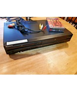 SONY SLV-D261P Combo DVD VCR Recorder Player Tested Works Great - $98.01
