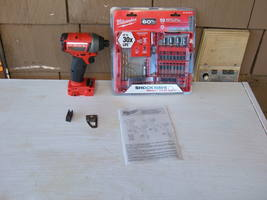 "Milwaukee Nos MI8 Fuel Brushless 1/4"" 2753-20 Impact Driver Bare Tool W/ACCS Set - $138.00"