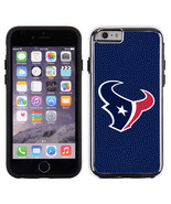 Houston Texans Team Color NFL Football Pebble Grain Feel IPhone 6 Case**... - $27.50
